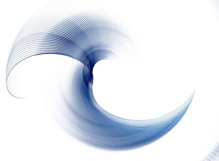 Abstract fractal element in rotational motion for your design