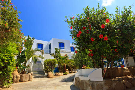 mediterranean style: Amazing mediterranean style of Panarea architecture and flora