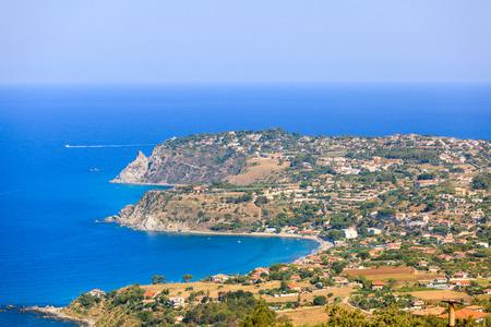 goddesses: Joppolo, costa degli dei. Coast of goddesses in Calabria.