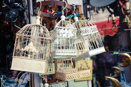 chabby: Romantic chabby chic bird cages on market