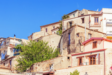 conglomeration: Conglomeration of rustic houses in Bova superiore, Calabria, Italy