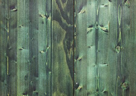 Nice green wooden texture with vertical planks