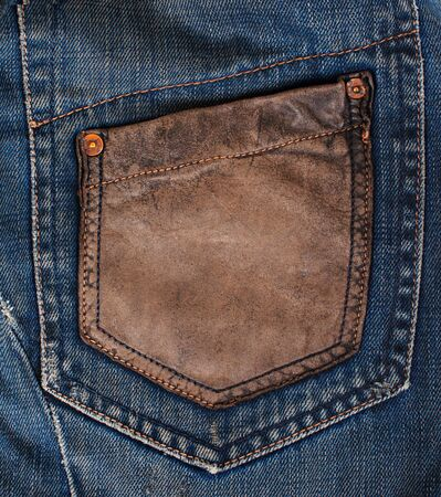 blue denim: Blue Denim Texture, Background, Jeans, pocket Stock Photo