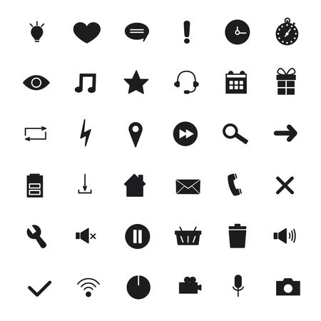 mobile communications: Universal Icons For Web and Mobile,communications. Vector illustration