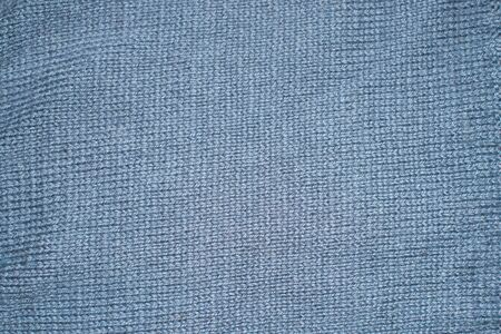 Grey knitting wool material texture for background Standard-Bild