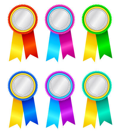 Winner's rosettes-2 Stock Vector - 3881241