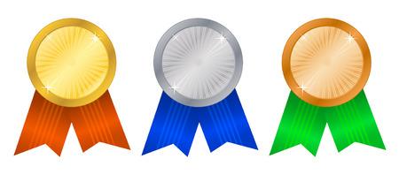 Winner's rosettes-4 Stock Vector - 3881214