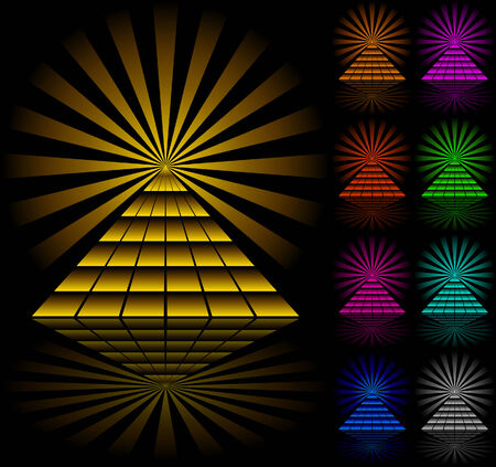 egyptian pyramids: Pyramids