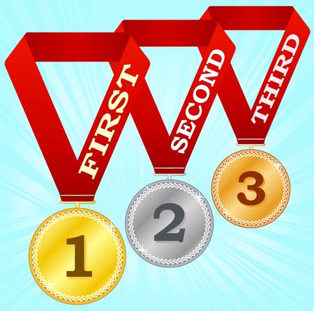 Medals-2 Stock Vector - 3881247