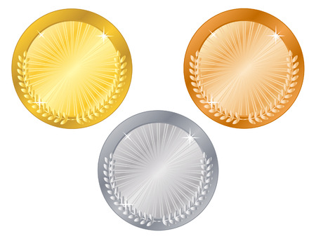 Medals-5 Stock Vector - 3881235
