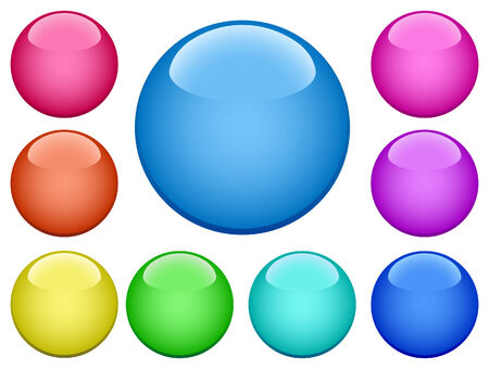 Ring buttons Vector