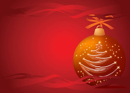 Christmas-tree ball Vector