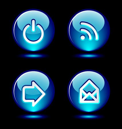 hightech: Ring buttons (set 3)