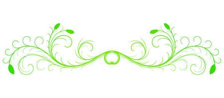Floral design element Stock Vector - 4691204