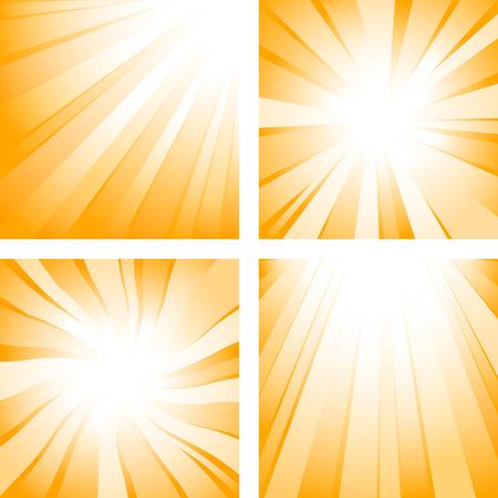 Sunlight (shiny backgrounds) Stock Vector - 4866126