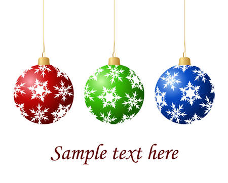 Christmas tree balls Stock Vector - 5766015