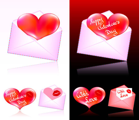 Hearts for Valentines Day Vector