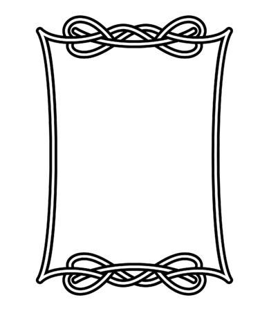 Celtic frame 1 Stock Vector - 6430292