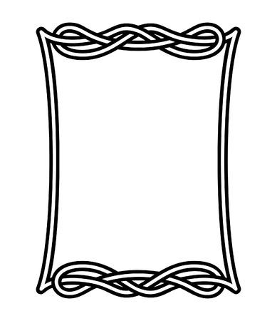 Celtic frame 2 Stock Vector - 6430290