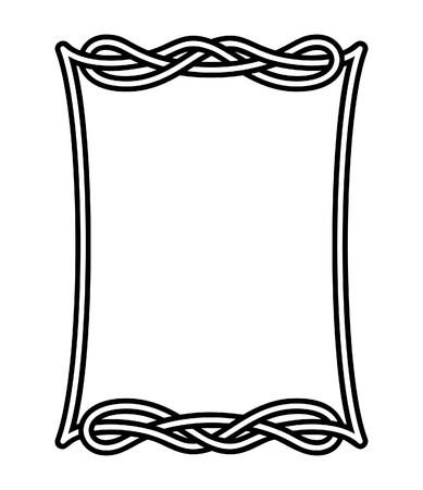 Celtic frame 2 Vector