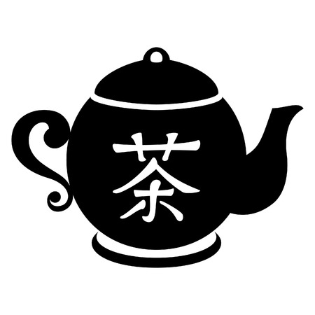 chinese tea cup: Icono de t�