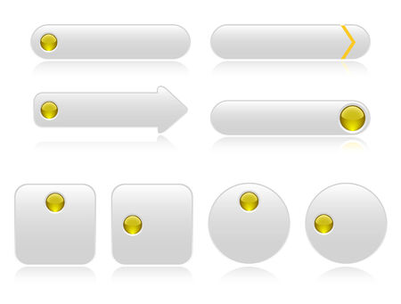 rollover: Buttons for web Illustration