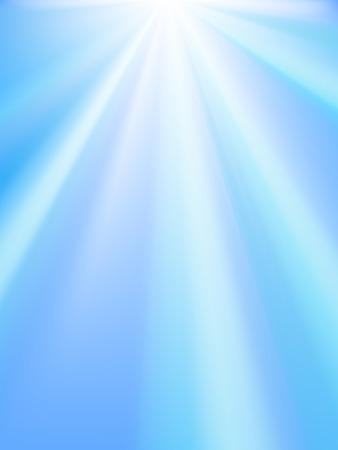 flyer background: Glanzende hemel. Verloop net - gemakkelijk te bewerken verhoudingen