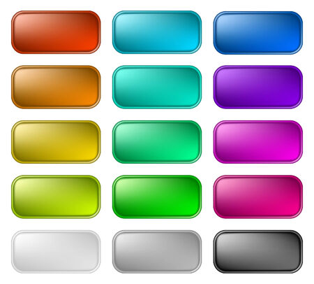 Color buttons 2 Vector