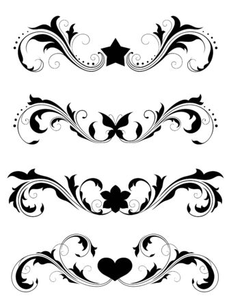 Design elements (floral) Stock Vector - 7060124