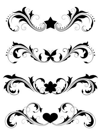 Design elements (floral) Stock Vector - 7060124