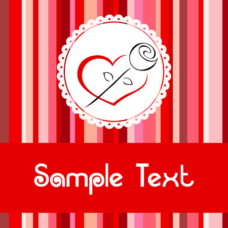 silueta: Greeting card 1
