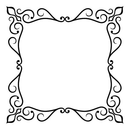 cadre noir et blanc: Cadre orn�