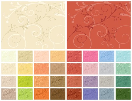 Abstract backgrounds. 32 color variations Stock Vector - 7507939