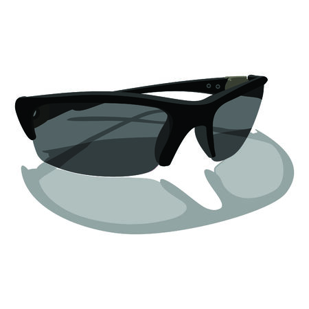 glases: Sunglasses. 3D illustration