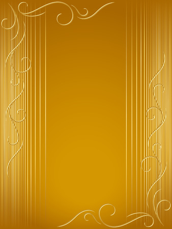 festal: Abstract backdrop with swirly decorations