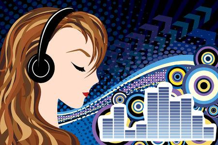 silueta: Music background