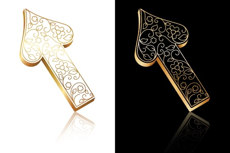 Ornate arrows Stock Vector - 9253830