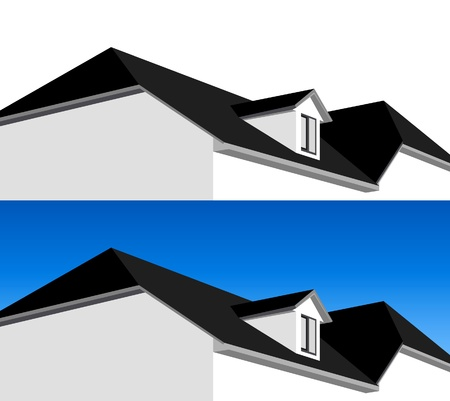 3D house Stock Vector - 9325509