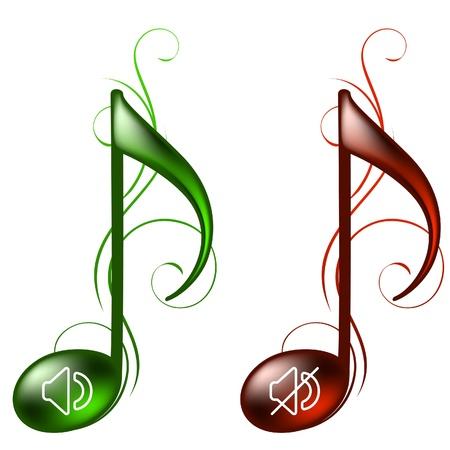 pictogrammes musique: Ic�nes de musique