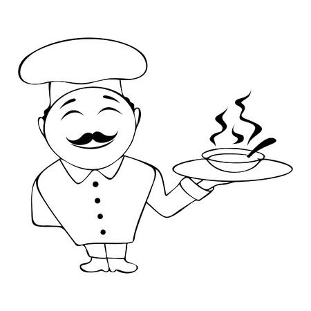 silueta: Chef
