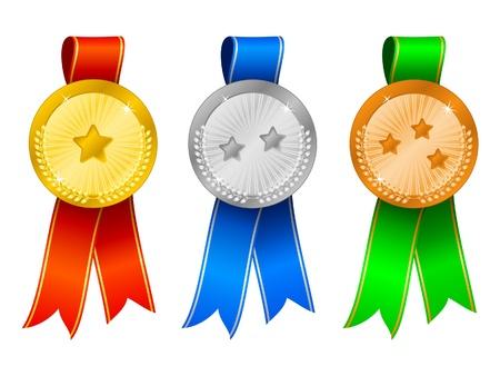 rosette: Medals set 6