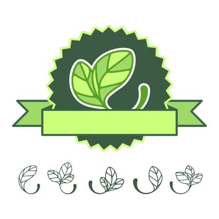silueta: Icons 100% natural