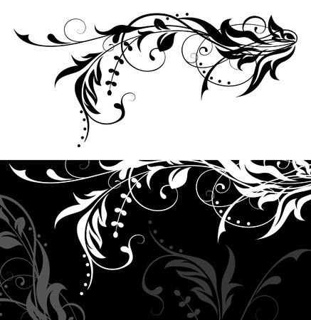 swirly design: Design element Illustration