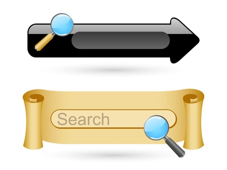 search button: Searching icons