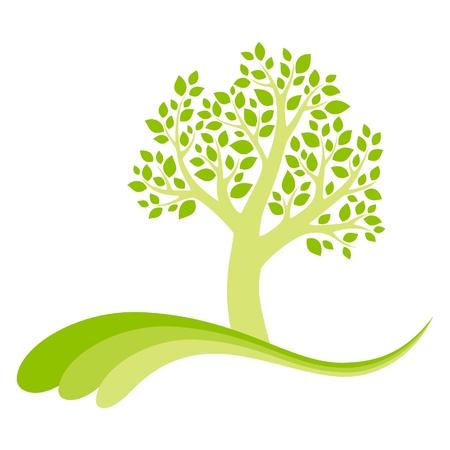 Vector tree 16 Illustration