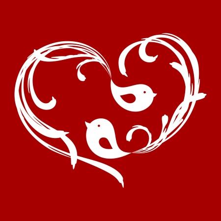 corazones: Birds in love 3