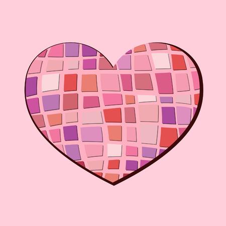 corazones: Abstract heart
