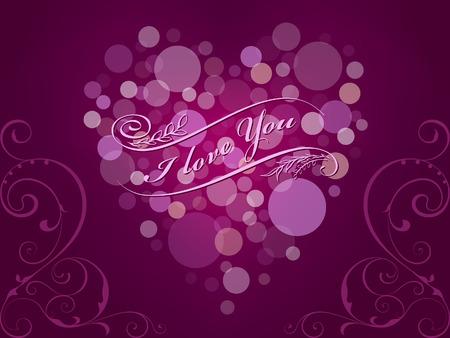 romantic: Romantic card