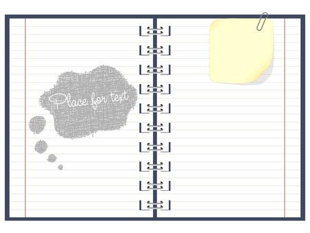 notebook paper: paper notebook