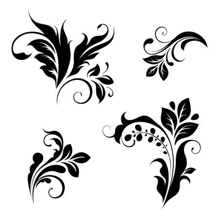 design elements: floral design elements